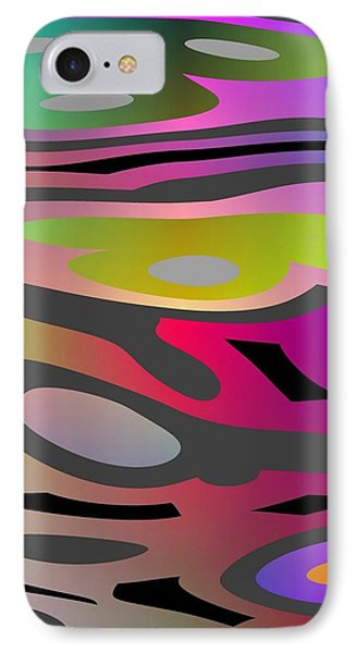IPhone Case featuring the digital art Color Fun 1 by Jeff Iverson