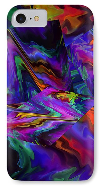 IPhone Case featuring the digital art Color Journey by Lynda Lehmann