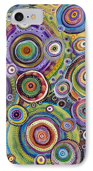 IPhone Case featuring the painting Color Me Happy by Tanielle Childers