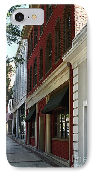 IPhone Case featuring the photograph Color Me Main St Usa by Skip Willits