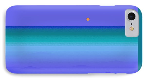IPhone Case featuring the digital art Color Of Water by Val Arie