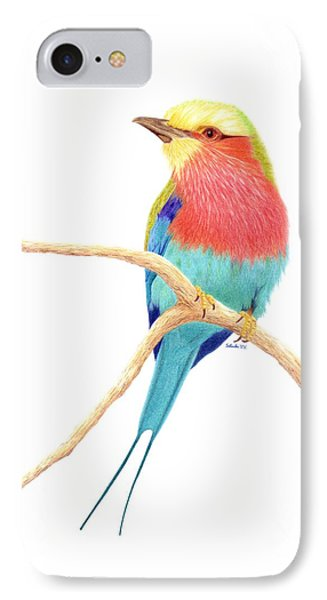 Color On A Branch IPhone Case by Selinda Van Horn