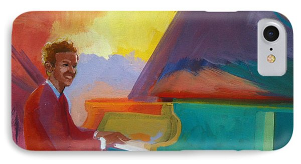 Color Piano Justin Levitt Steinway IPhone Case