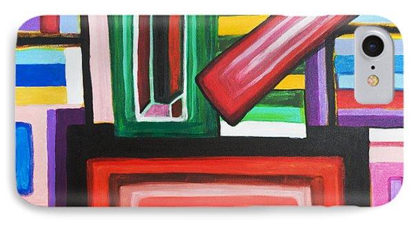 Color Squares IPhone Case by Jose Rojas