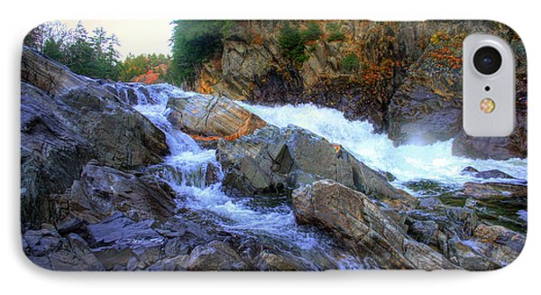 Color Steps At Livermore Falls IPhone Case