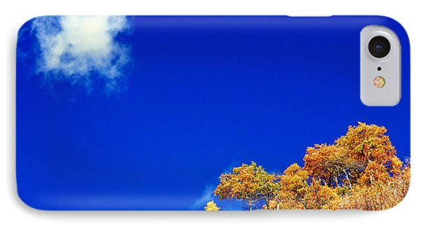 IPhone 7 Case featuring the photograph Colorado Blue by Karen Shackles