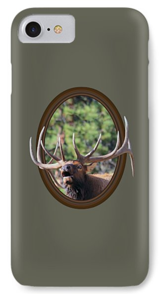 IPhone Case featuring the photograph Colorado Bull Elk by Shane Bechler