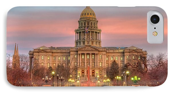 IPhone 7 Case featuring the photograph Colorado Capital by Gary Lengyel