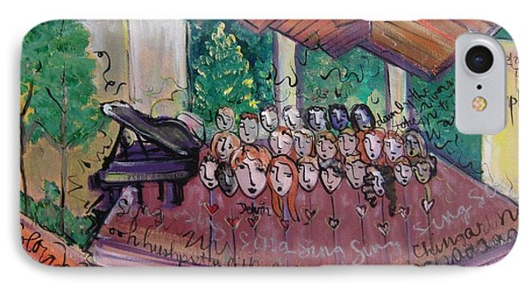 Colorado Childrens Chorale Phone Case by Laurie Maves ART