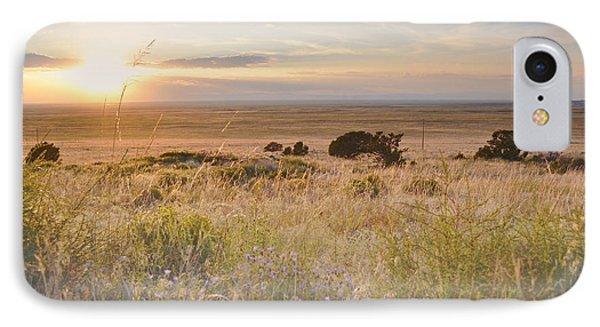 Colorado Field Sunset Landscape IPhone Case by Andrea Hazel Ihlefeld