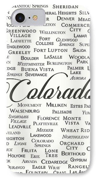 Colorado IPhone Case by Finlay McNevin