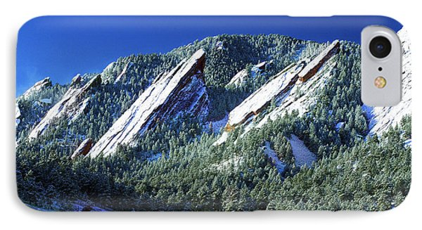 All Fivecolorado Flatirons IPhone Case by Marilyn Hunt
