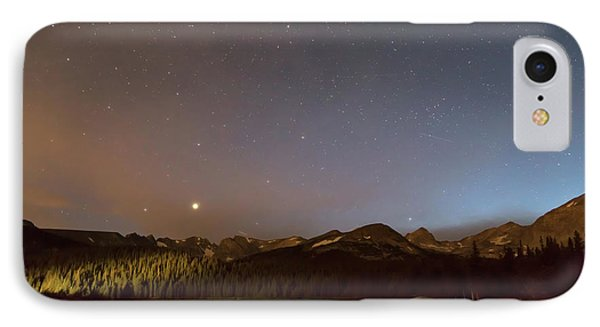 IPhone Case featuring the photograph Colorado Indian Peaks Stellar Night by James BO Insogna