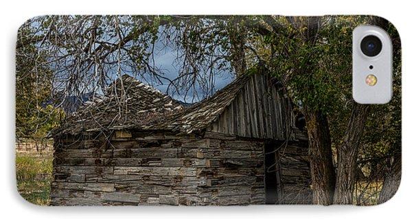 Colorado Log Cabin IPhone Case by Paul Freidlund