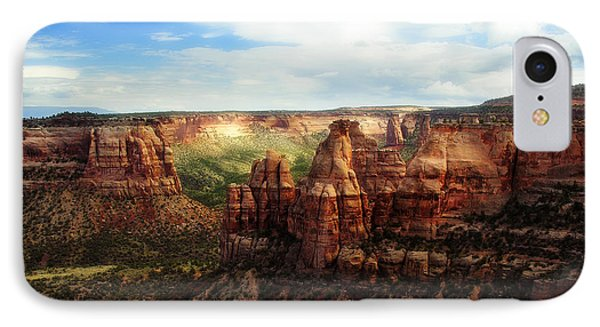 Colorado National Monument IPhone Case by Marilyn Hunt