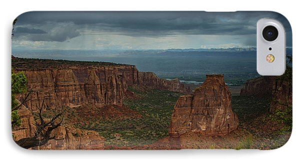 Colorado National Monument Storm National Park IPhone Case