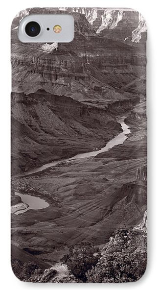 Colorado River At Desert View Grand Canyon Phone Case by Steve Gadomski