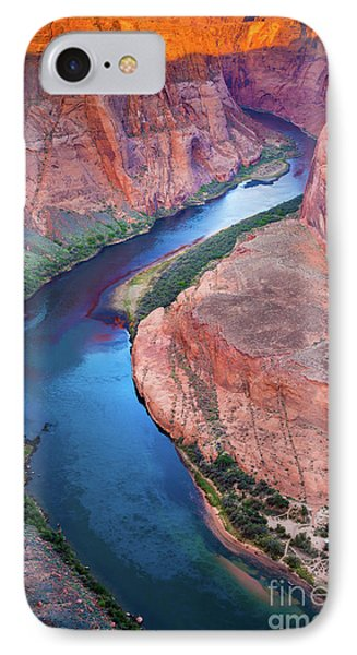 Colorado River Bend Phone Case by Inge Johnsson