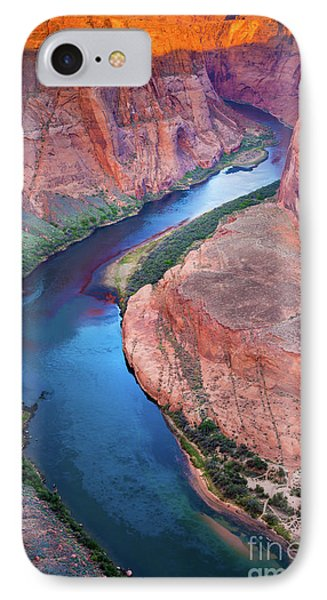 Colorado River Bend IPhone Case by Inge Johnsson