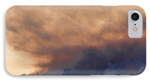 Colorado Rockies On Fire Phone Case by James BO  Insogna