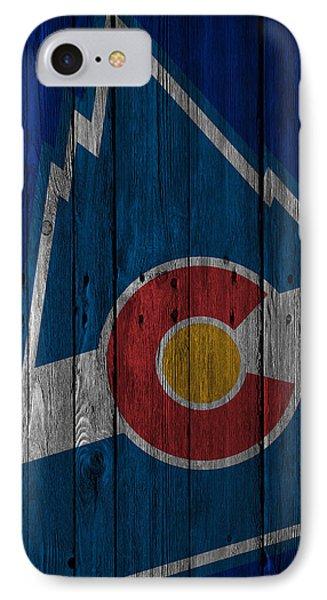 Colorado Rockies Wood Fence IPhone Case by Joe Hamilton