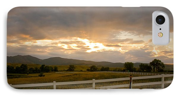 Colorado Rocky Mountain Country Sunset Phone Case by James BO  Insogna