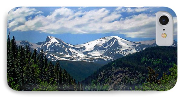 Colorado Rocky Mountains IPhone Case by Anthony Dezenzio