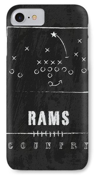 Colorado State Rams / Ncaa College Football Art / Fort Collins IPhone Case by Damon Gray