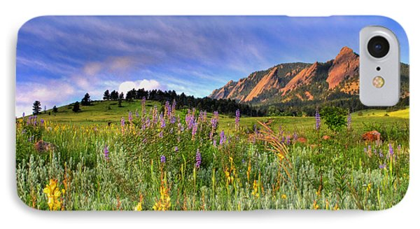 Colorado Wildflowers IPhone Case by Scott Mahon