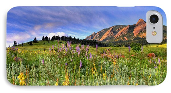 Colorado Wildflowers IPhone Case
