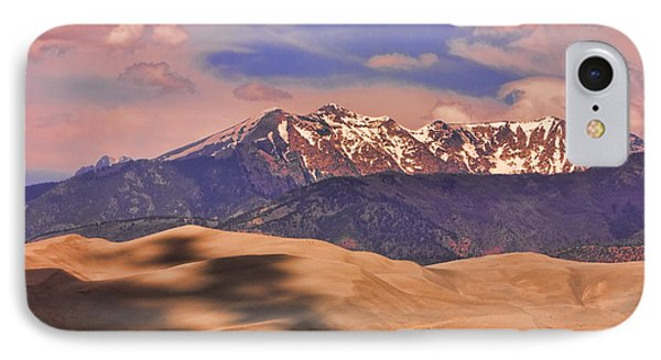 Colorado's Great Sand Dunes Shadow Of The Clouds Phone Case by James BO  Insogna