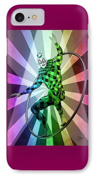 Colored Circus  IPhone Case by Quim Abella