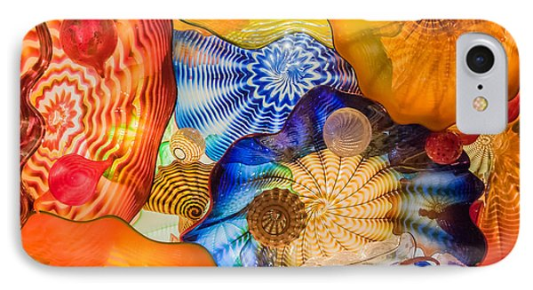 Colored Glass IPhone Case by Roger Mullenhour