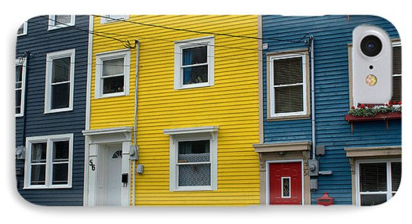 Colored Houses IPhone Case by Douglas Pike