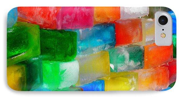 Colored Ice Bricks IPhone Case