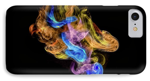 IPhone Case featuring the photograph Colored Vapors by Rikk Flohr