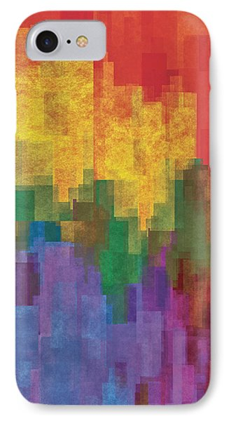 Coloredshapes IPhone Case by Jack Zulli