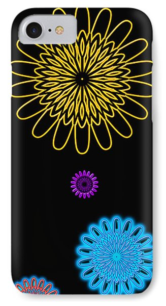 Colorful Abstract 3 IPhone Case