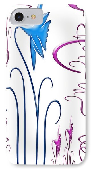 Colorful Abstract 9 IPhone Case