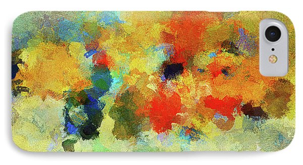 Colorful Abstract Art - Abstract Landscape IPhone Case by Ayse Deniz