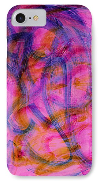 Colorful Abstract Phone Case by Natalie Holland