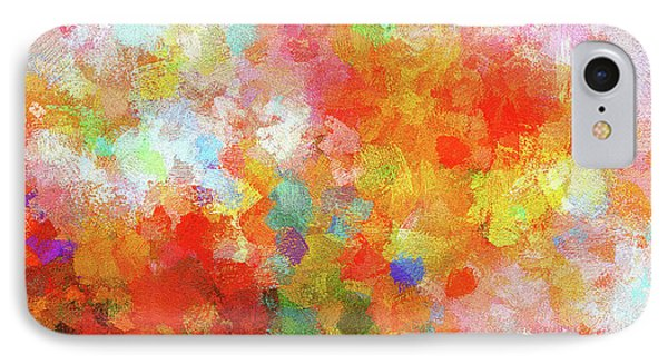 Colorful Abstract Painting IPhone Case by Ayse Deniz