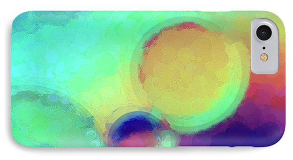 Colorful Abstract Painting IPhone Case by Darren Fisher