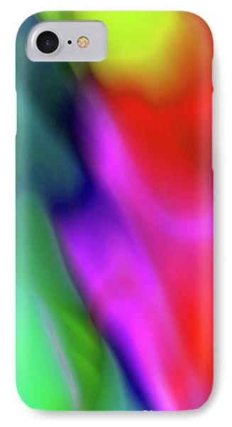 Colorful Abstract Phone Case 2 IPhone Case by Edward Fielding