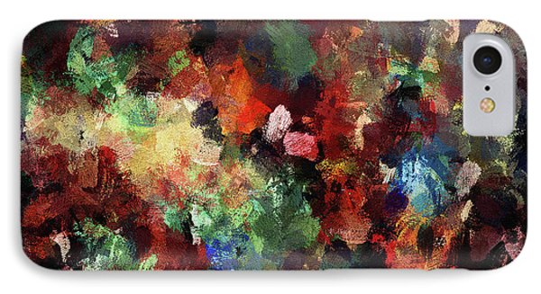 Colorful And Modern Abstract Painting IPhone Case by Ayse Deniz