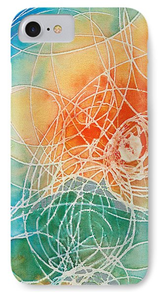 Colorful Art - Color Wash - By Sharon Cummings IPhone Case