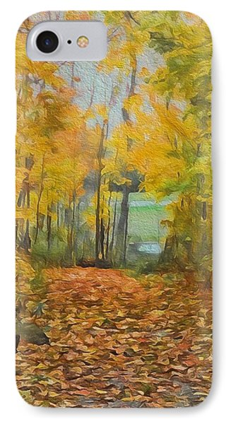 Colorful Autumn Trail IPhone Case by Dan Sproul