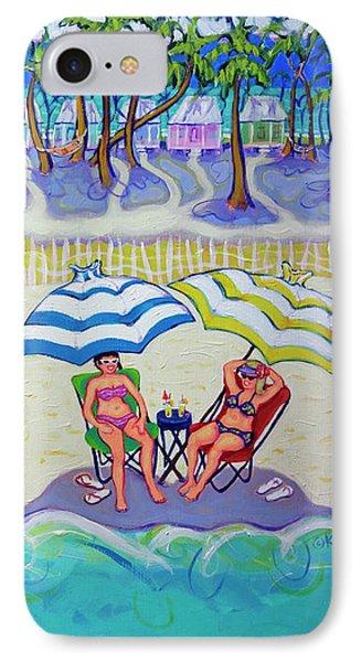 Colorful Beach Hideaway IPhone Case