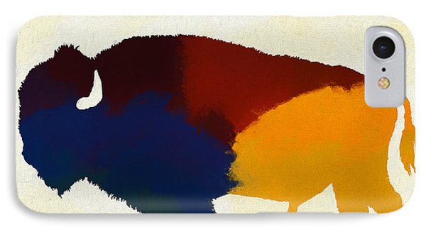 Colorful Bison IPhone Case