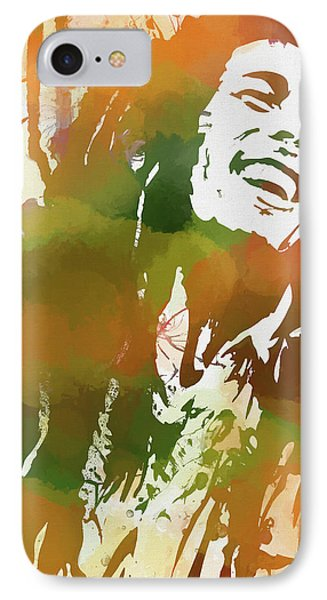 Colorful Bob Marley IPhone Case